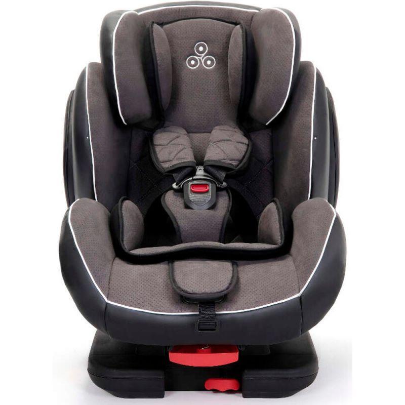 Ickle Bubba Solar Group 1-2-3 Isofix & Recline Car Seat-Dark Grey
