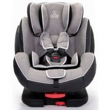 Ickle Bubba Solar Group 1-2-3 Isofix & Recline Car Seat-Light Grey