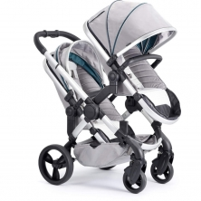 iCandy Peach Satin Blossom Pushchair-Dove Grey (New)