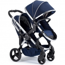 iCandy Peach Chrome Blossom Pushchair-Indigo (New)