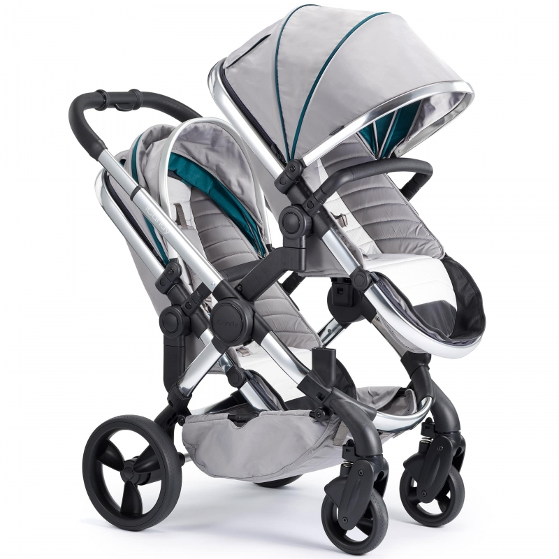 iCandy Peach Chrome Blossom Pushchair-Dove Grey (New)