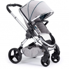 iCandy Peach + FREE Accessories Worth £275-Chrome/Dove Grey (New)