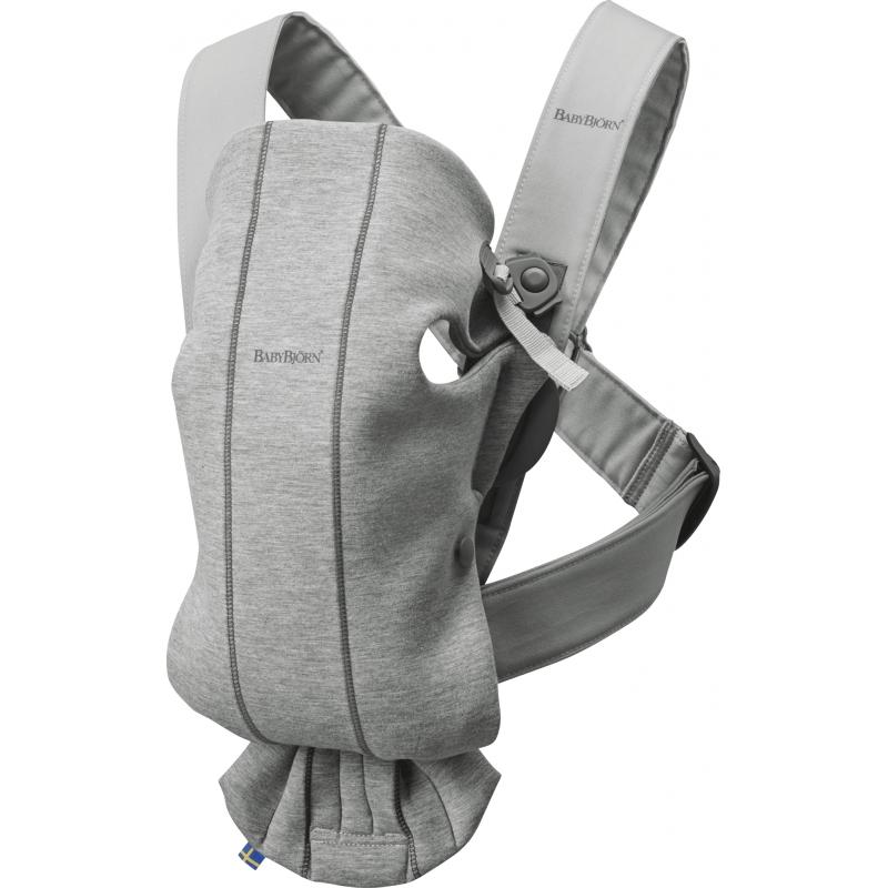 Baby Bjorn Mini Baby Carrier-Light Grey (New 2018)