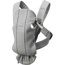 Baby Bjorn Mini Baby Carrier-Light Grey (New 2018)