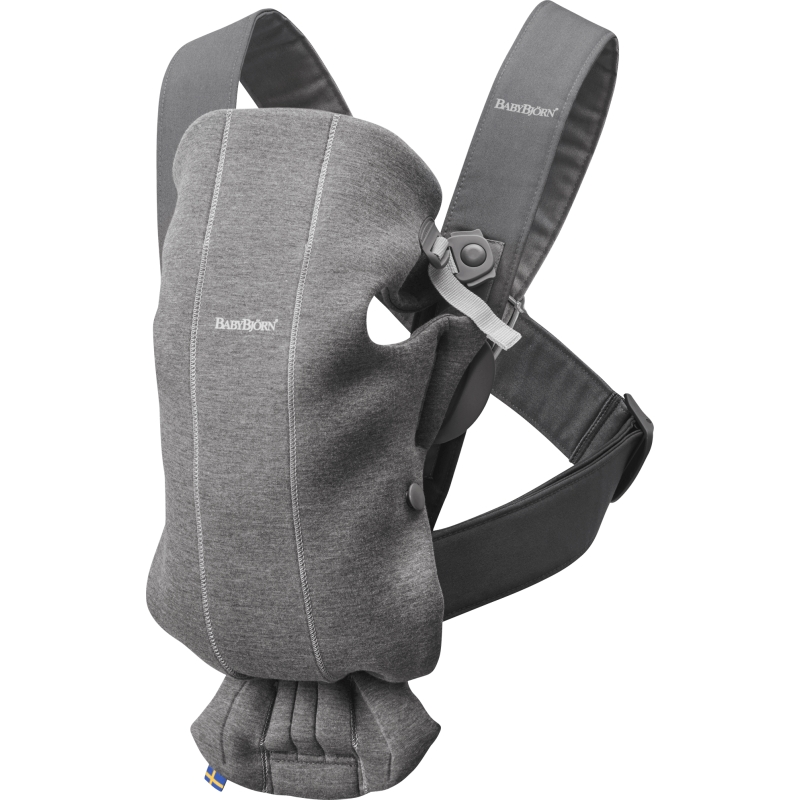 Baby Bjorn Mini Baby Carrier-Dark Grey