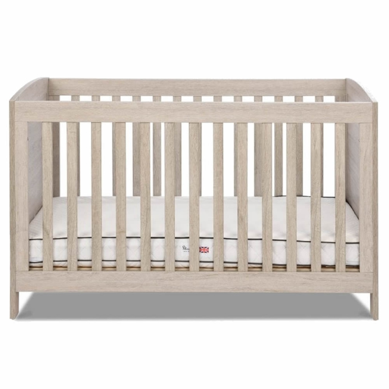 Silver Cross New England Cot Bed-Oak (New)