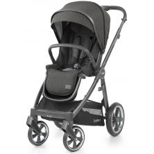 BabyStyle Oyster 3 City Grey Finish Stroller-Pepper