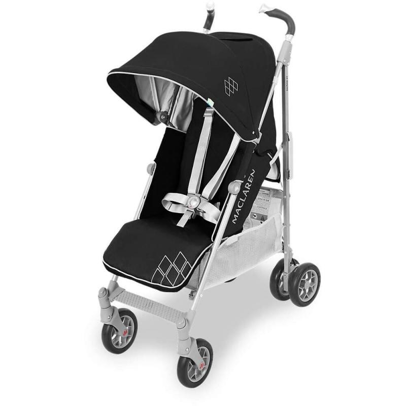 Maclaren Techno XT Stroller-Black/Silver (New 2018)