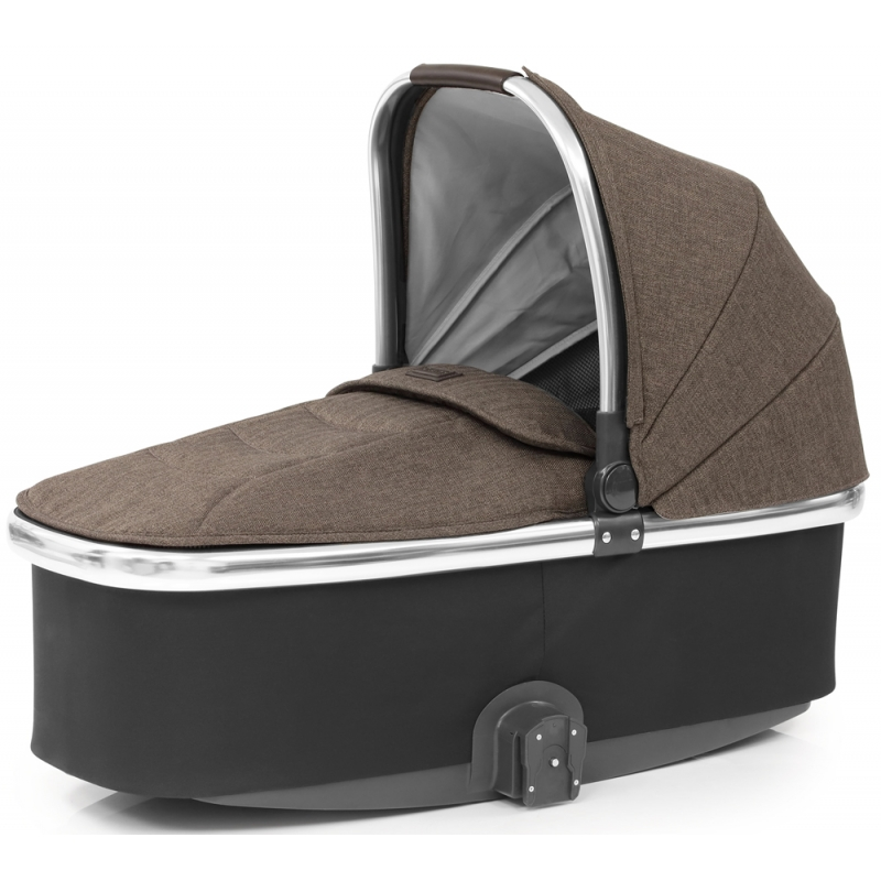 Babystyle Oyster 3 Mirror Finish Carrycot-Truffle