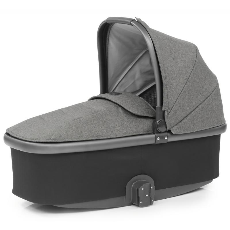 Babystyle Oyster 3 City Grey Finish Carrycot-Mercury