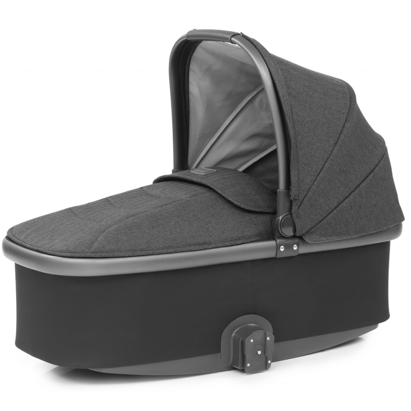 Babystyle Oyster 3 City Grey Finish Carrycot-Pepper