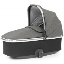 Babystyle Oyster 3 Mirror Finish Carrycot-Mercury