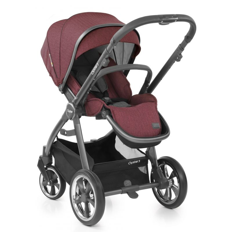 Oyster Vacation: BabyStyle Oyster 3 City Grey Finish Luxury Travel System