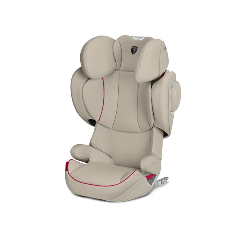 Cybex Solution Z-Fix Ferrari Car Seat-Silver Grey