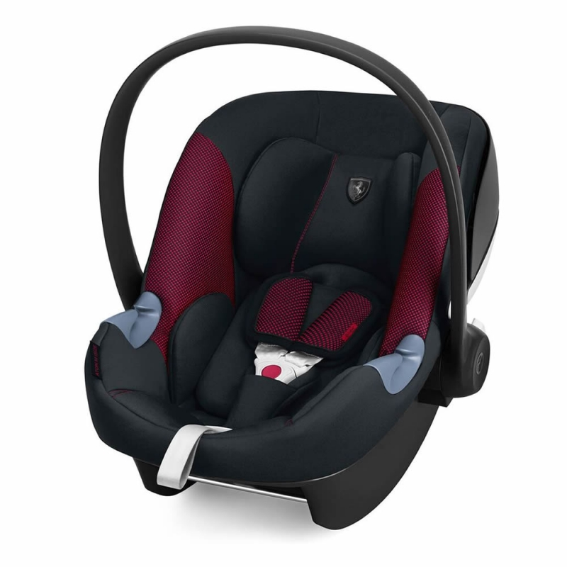Cybex Aton M I-Size Group 0+ Ferrari Car Seat-Victory Black (New 2018)