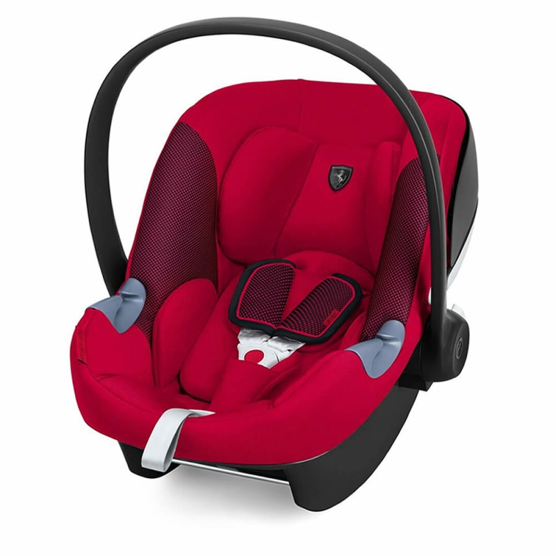 cybex aton m i size group 0 ferrari car seat racing red. Black Bedroom Furniture Sets. Home Design Ideas