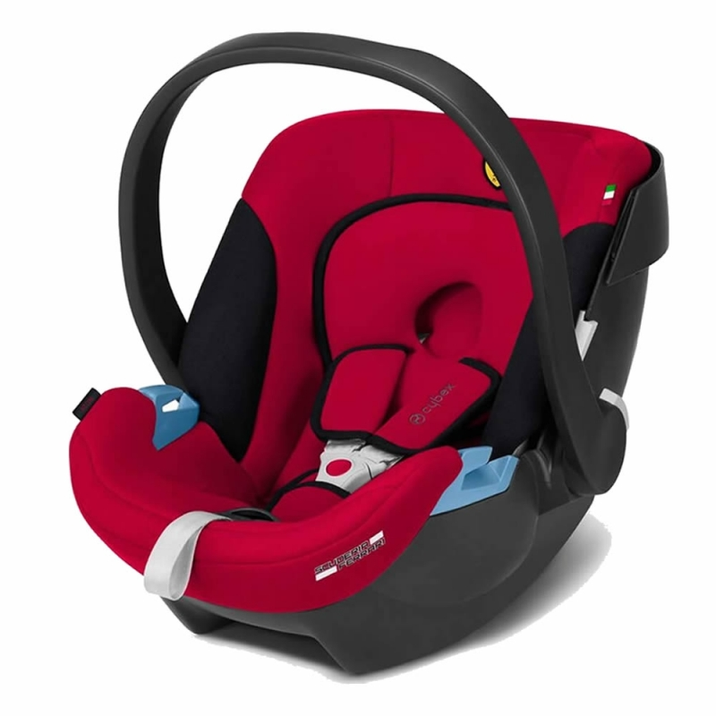 Cybex Aton Group 0+ Ferrari Car Seat-Racing Red (New 2018)