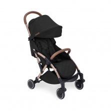 Ickle Bubba Globe Rose Gold Chassis Pushchair-Black