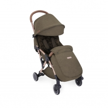 Ickle Bubba Globe Max Rose Gold Chassis Pushchair-Khaki