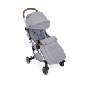 Ickle Bubba Globe Max Silver Chassis Pushchair-Grey