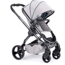 iCandy Peach Stroller-Phantom/Dove Grey