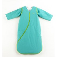 Purflo SleepSac With Sleeves-Turquoise Blue (Tog2.5/70cm/3to9 Months)