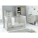 Obaby Stamford Classic Sleigh 4 Piece Furniture Roomset-Warm Grey