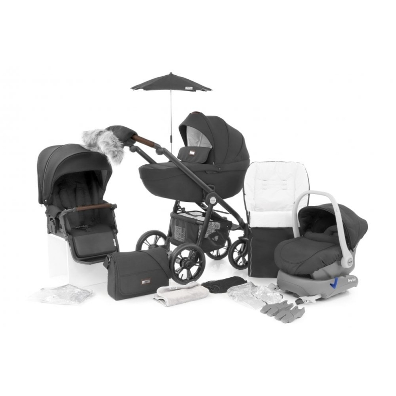BabyStyle Prestige Special Edition 14 Piece Bundle (Includes Everything you Need)-Nimbus Black