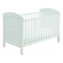 Babymore Aston DROPSIDE Cot Bed-White