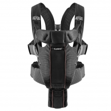 BabyBjorn Miracle Baby Carrier Mesh-Black