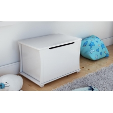 Babymore Bel Toy Chest-White
