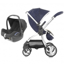 egg® Special Edition 2in1 Cabriofix Travel System With Changing Bag & Seat Liner-Serpent