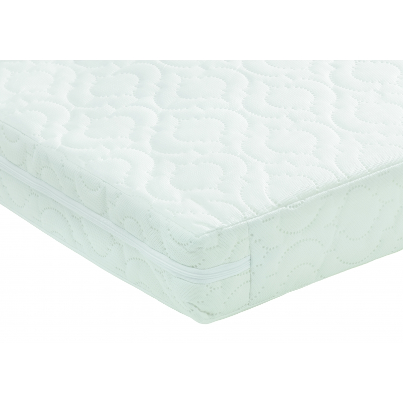 Image of Babymore Deluxe Sprung Cot Mattress-120x60x10