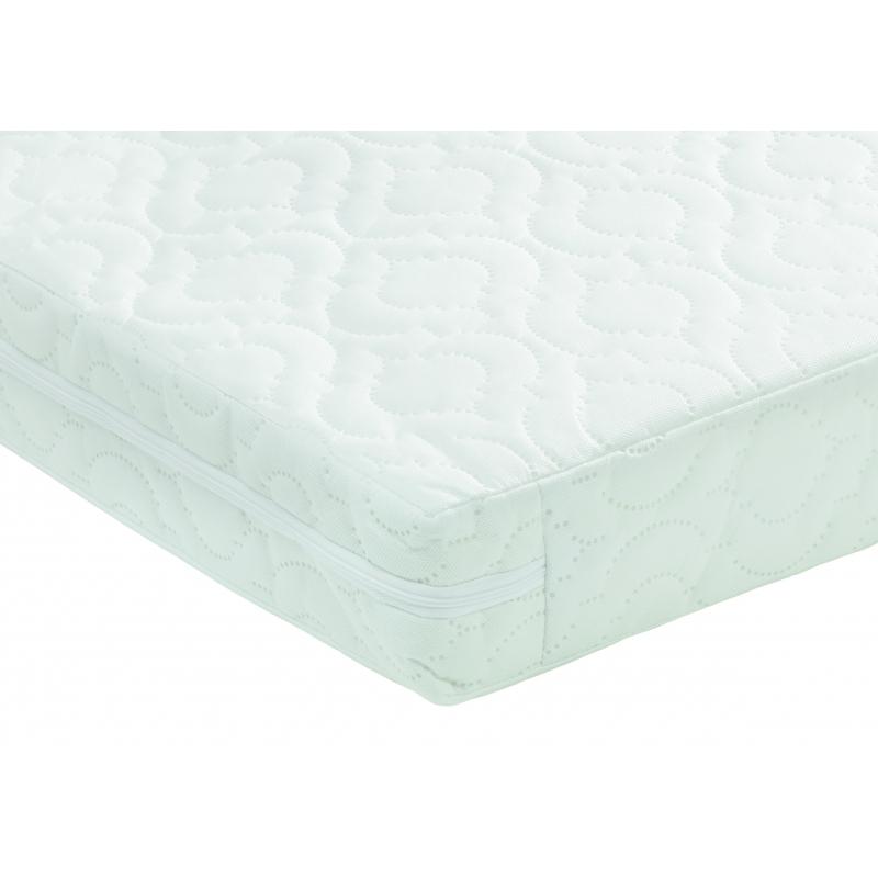 Babymore Deluxe Sprung Cot Bed Mattress-140x70x10
