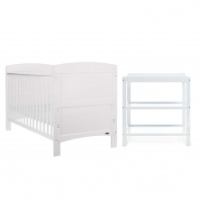 Obaby Grace 2 Piece Furniture Set-White
