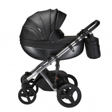 Mee-Go Milano Special Edition 3in1 Travel System-Ebony
