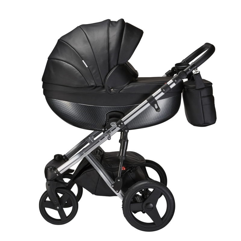Mee-Go Milano Special Edition 3in1 Travel System-Ebony + Free Changing Bag Worth £80!