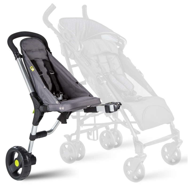 Buggypod IO 4G Pushchair Toddler Seat-Anthracite