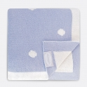 Shnuggle Luxury Knitted Blanket-Blue