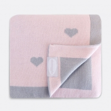 Shnuggle Luxury Knitted Blanket-Pink