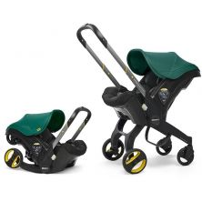 Doona Infant Car Seat Stroller-Racing Green + FREE Raincover Worth £24.99!