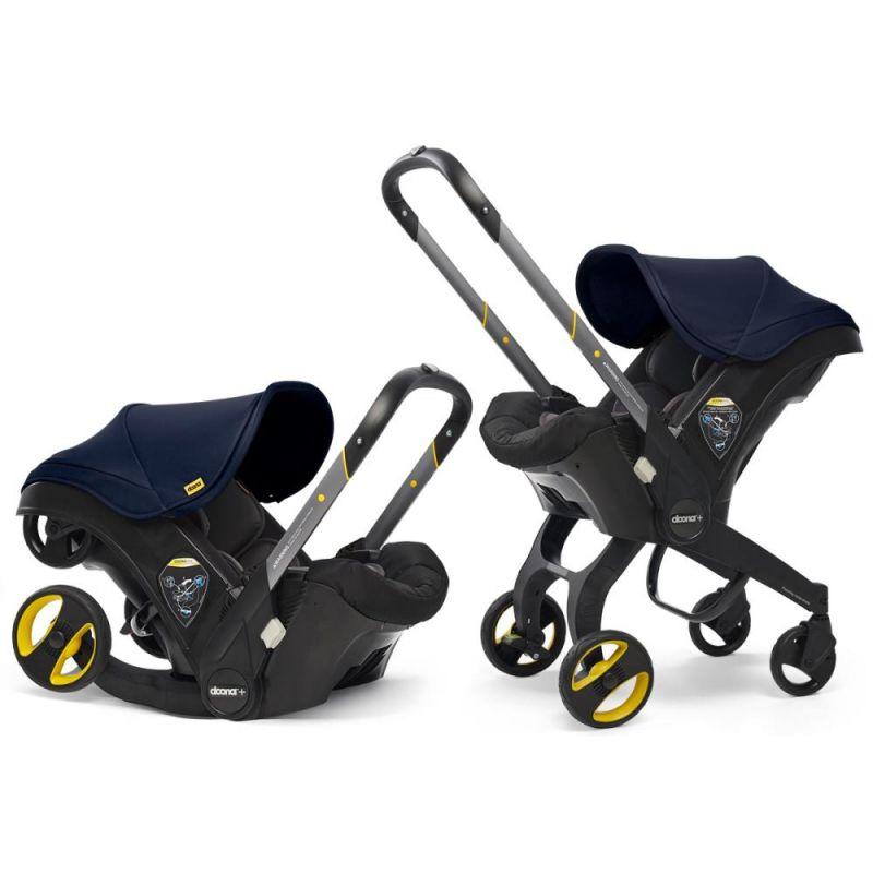 Doona Infant Car Seat Stroller-Royal Blue + FREE Doona Rain Cover Worth 29.99!
