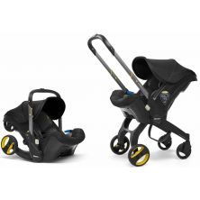 Doona Infant Car Seat Stroller-Nitro Black + FREE Rain Cover to fit Doona Worth 24.99!