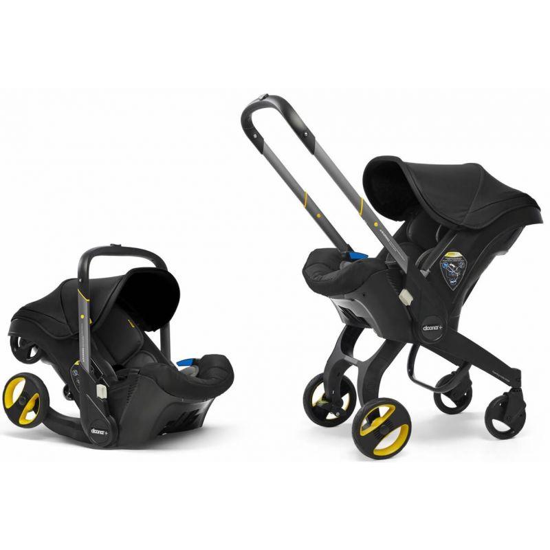 Doona Infant Car Seat Stroller-Nitro Black + FREE Rain Cover to fit Doona Worth 24.99!
