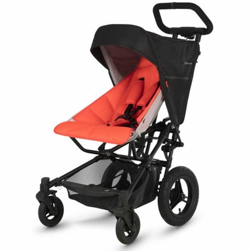 Micralite FastFold Stroller-Black/Flouro