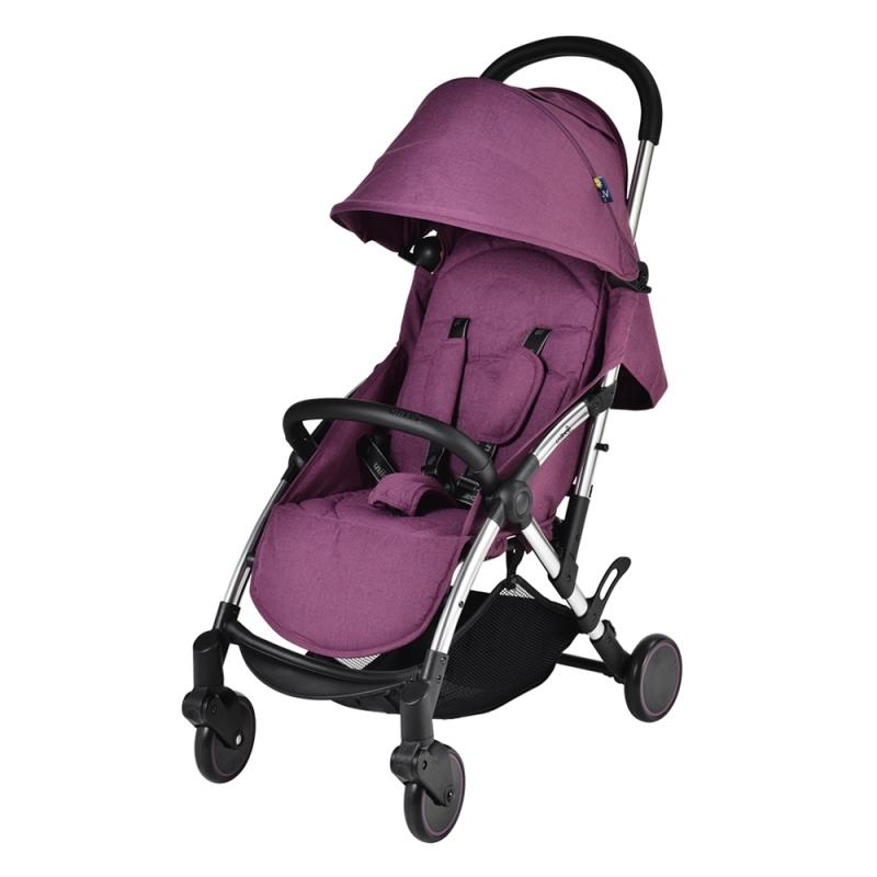 Unilove Slight Premium Baby Stroller-Bordeaux Purple