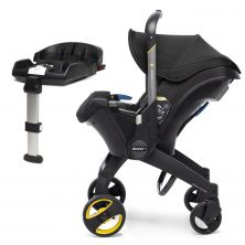 Doona Infant Car Seat Stroller With ISOFIX Base-Nitro Black (New 2019)