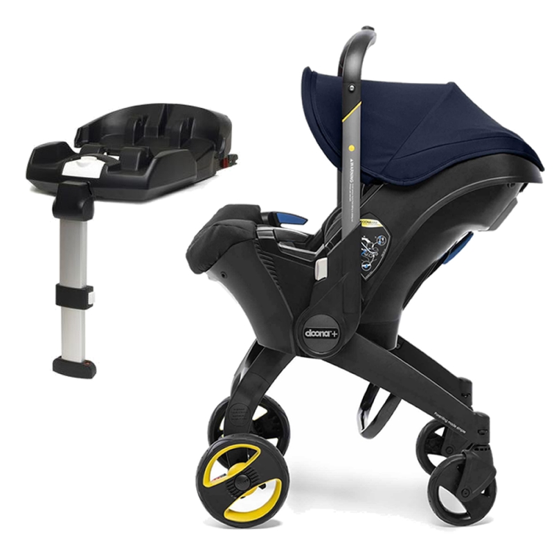 Doona Infant Car Seat Stroller With ISOFIX Base-Royal Blue (New 2019)