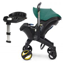 Doona Infant Car Seat Stroller With ISOFIX Base-Racing Green