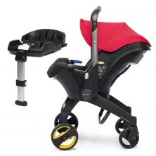 Doona Infant Car Seat Stroller With ISOFIX Base-Flame Red